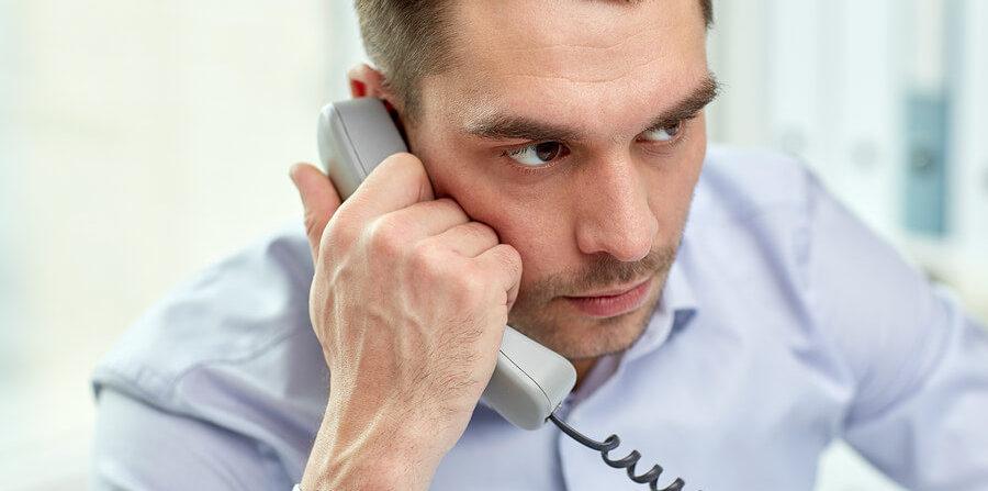 interruzione linea telefonica